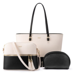 Crossbody Bag and Shoulder Bag 3pc Set for Ladies
