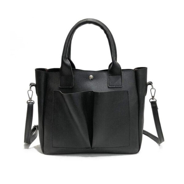 Casual Women Leather Handbag