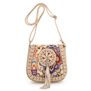 Tassel Crossbody Shoulder Bag