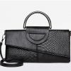 Women Clutch Bag and Crossbody Bag Crocodile Pattern