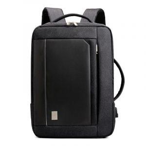 Laptop Backpack For Men Waterproof Plus USB Charging Port
