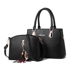 Women's Leather Handbags Set Luxury Designer Shoulder bags
